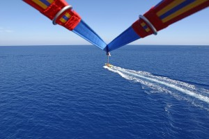 Paradise Watersports: Parasailing in Ocean City