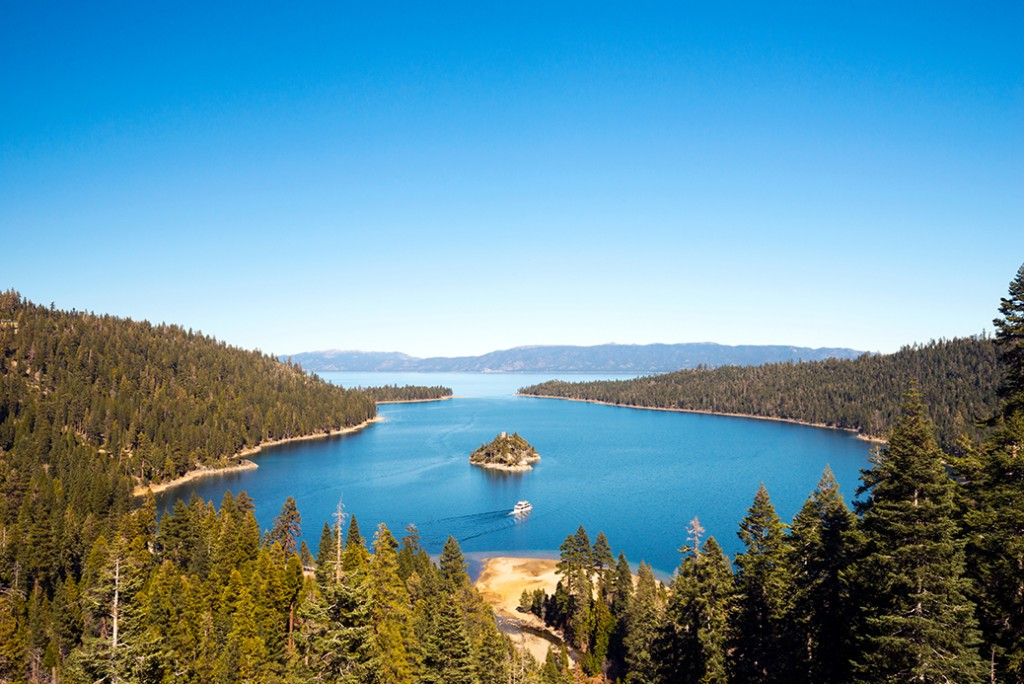Tahoe South Spring Landscape Project