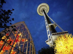Space Needle vs Chihuly