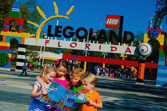 WINTER HAVEN, FL LEGOLAND Florida is a 150 acre interactive them park featuring more more than 50 rides, shows and attraction all geared toward families with children ages 2-12. (PHOTO / CHIP LITHERLAND)