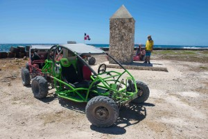 Dune buggy adventures in Punta Cana.