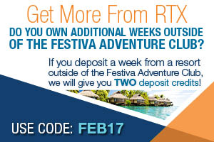 RTX Member Special | Stretch Your Deposit Weeks, Upgrade Unit Size or Color Season