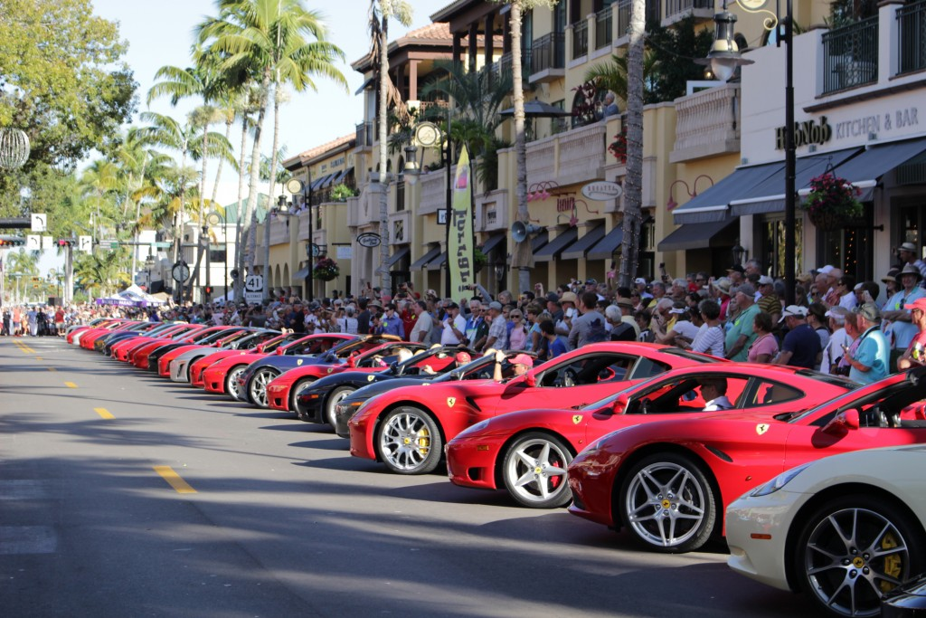 Ferrari Show in Naples Fl 11 February 2017