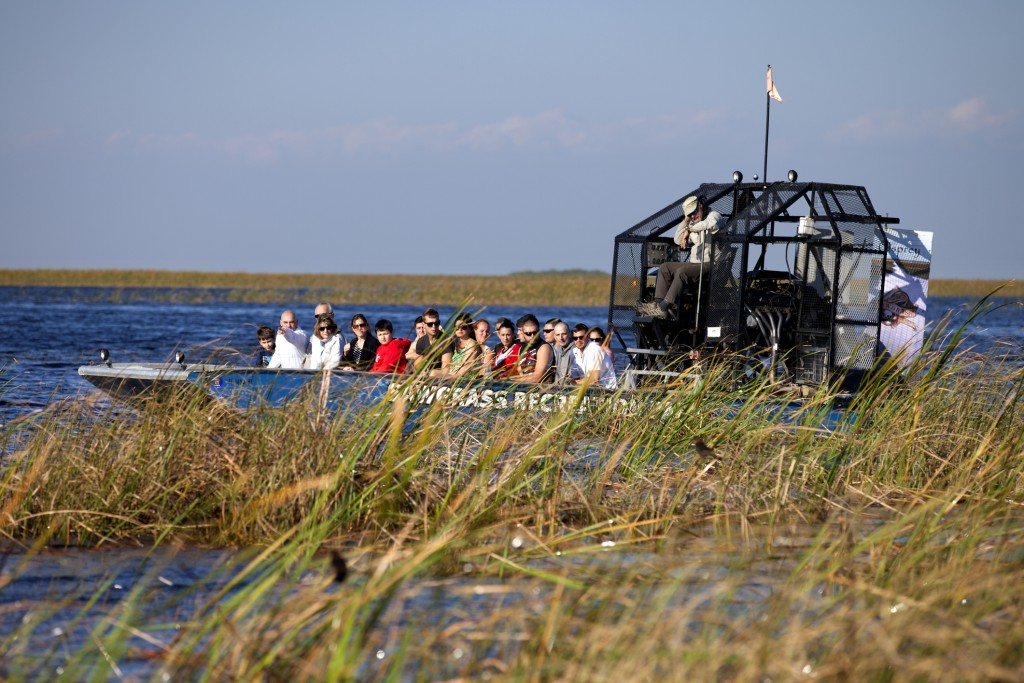 Airboat Ecotour - Sawgrass Recreation Park