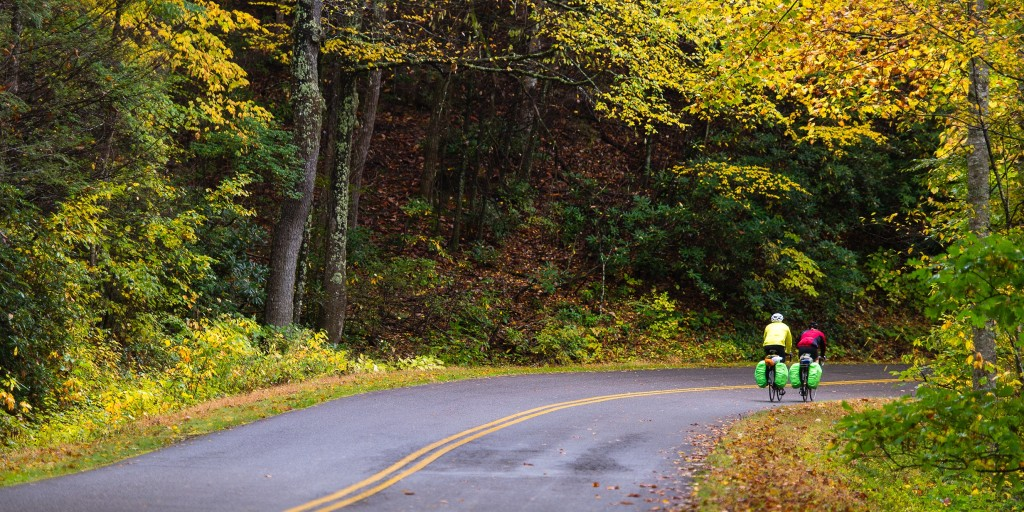 Bicycling the Blue Ridge Parkway