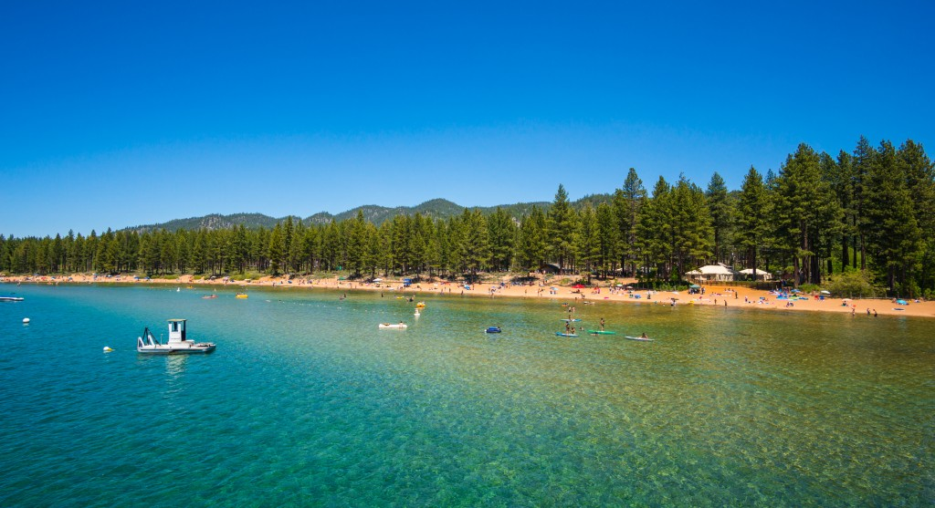 Beautiful Lake Tahoe, California