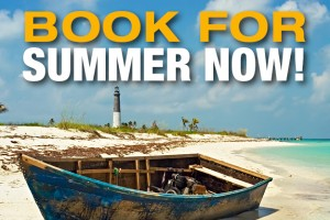 Reminder: Book for Summer Now!