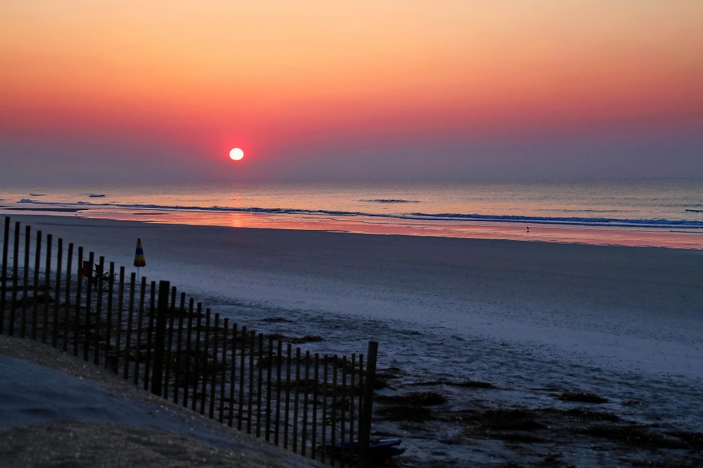 Topsail Beach Sunrise
