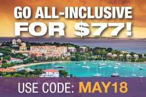 Reminder: In May, Go All Inclusive With $77 Exchange Fees