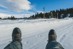 Snow Tubing at Gorgoza Park | Park City, Utah