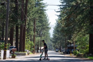 A Futuristic Ride | Trying Out Lime Electric Scooters in Lake Tahoe