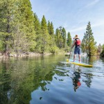 Stand up paddle boarding in Emerald Bay