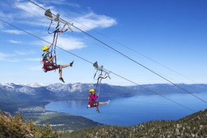 Heavenly Ski Resort Provides Summer Fun Amidst a Stunning Backdrop
